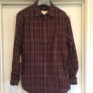 Banana Republic Luxe Flannel Size Large